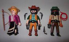 34350 Vaqueros 3u playmobil,western,oeste,cowboy,figura,figure,6278