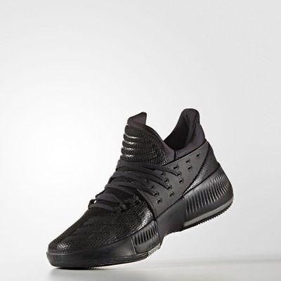 Cortar diámetro Velas  Adidas Dame 3 Damian Lillard Men's Basketball Shoes BY3206 Black US Size  11-12.5 | eBay