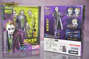 SHF DARK KNIGHT JOKER  BANDAI   A-25100  4549660149507  FREE SHIPPING
