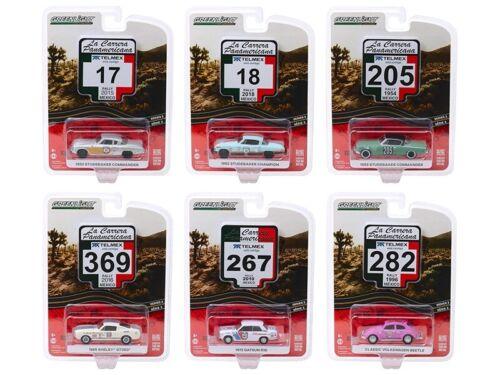 La Carrera Panamericana Series 2 Diecast 6 pcs 1:64 Greenlight