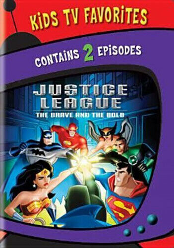 Justice League: The Brave and the Bold - 2 Episodes DVD NEW