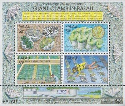Spirited Palau-islands Block11 Never Hinged 1991 Riese Sophisticated Technologies complete.issue. Unmounted Mint