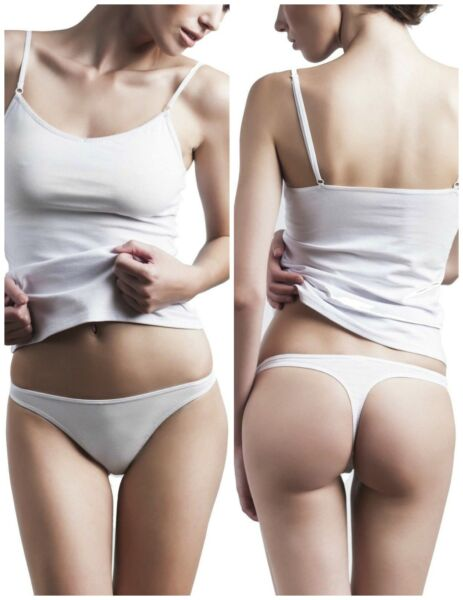 Uniconf 4-er Pack Damen Unterwäsche Tanga Slips Unterhosen Bikini Dessous NEU