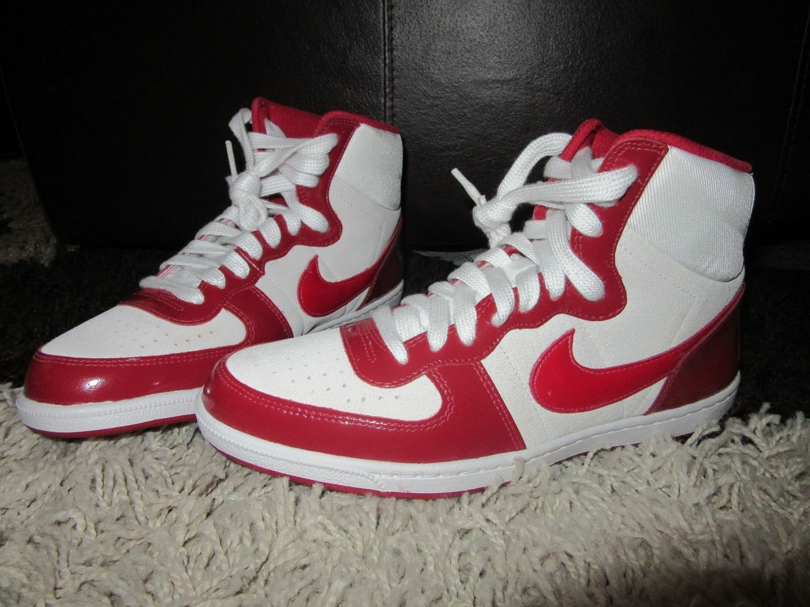 NEW Damenschuhe NIKE Trainers Trainers NIKE UK 5.5 Terminator Lite High Top ROT Weiß Suede Cream 3cac40