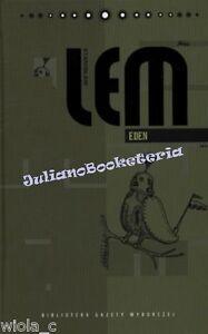 EDEN-Stanislaw-Lem-10-po-polsku-POLISH-BOOK-piekna-kolekcja-TWARDA-JBook