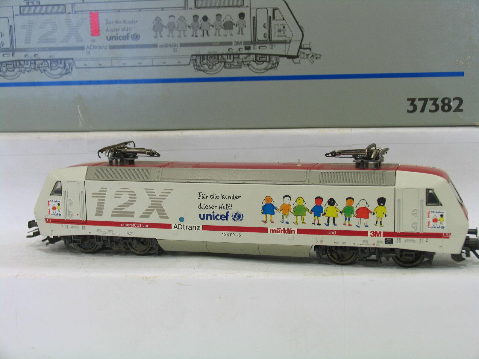37382 E-Lok BR 128 12x UNICEF delle DB DIGITAL m57
