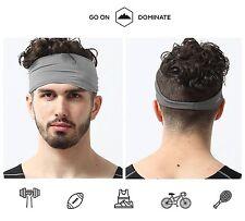 Hair Head Band Sweatband Headband Stretch Mens Wrap Elastic Sports Men Thin  Gym 8cbb4de6179