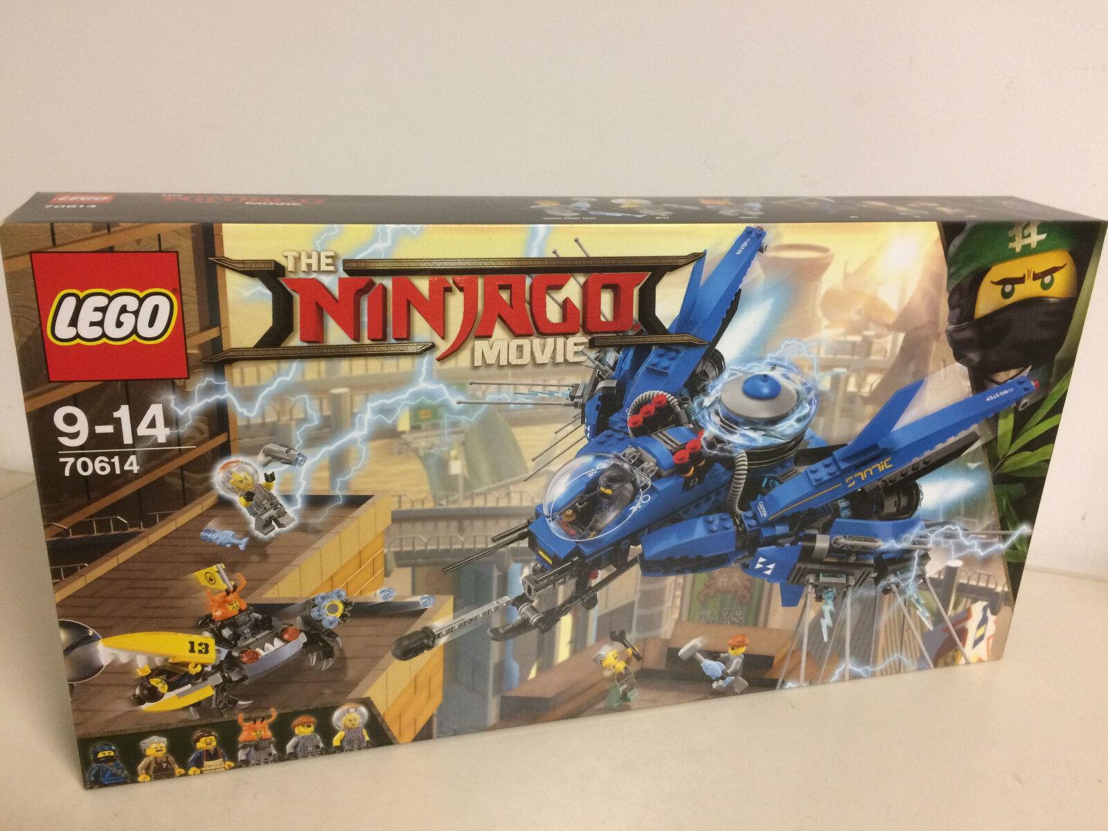 LEGO THE NINJAGO MOVIE 70614 LIGHTNING JET JET JET    6 minifigures Jelly  Shark Army dbc169