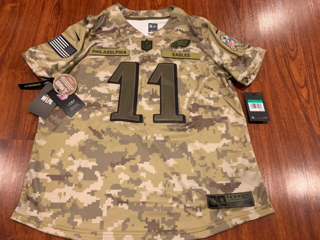 purchase cheap 2e198 5c82d Nike Women's Carson Wentz Philadelphia Eagles Salute to Service NFL Jersey  XL