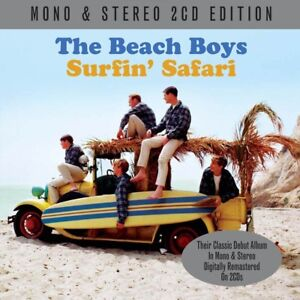 The-BEACH-BOYS-Surfin-039-Safari-2-CD-NUOVO