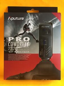 APUTURE-Pro-Coworker-3N-Remote-Shutter-for-NIKON-New-open-box