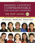 Making Content Comprehensible for English Learners: The SIOP Model by Jana J. Echevarria, Deborah J. Short, MaryEllen Vogt (Paperback, 2016)
