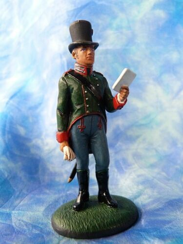 Soldat 1er empire - Officier landwehr de Carinthie  Autriche 1809 - Lead soldier