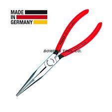 "Knipex 2881280 11/"" Extra Long Needle Nose Pliers with angled 45° transverse prof"