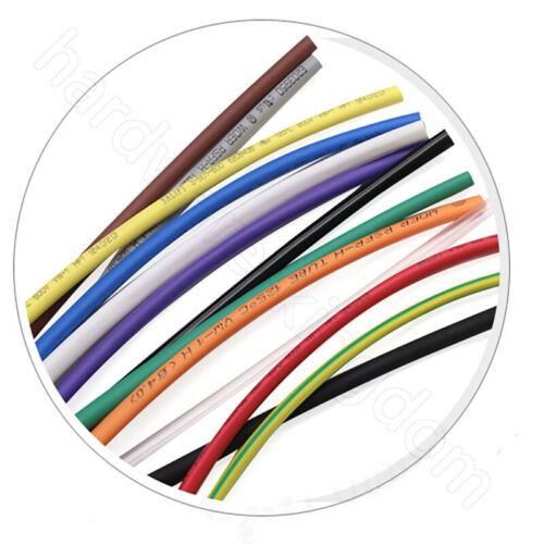 2 mm Heat Shrink 2:1 Heatshrink Tube Electrical Wire Cable Sleeving All Colour