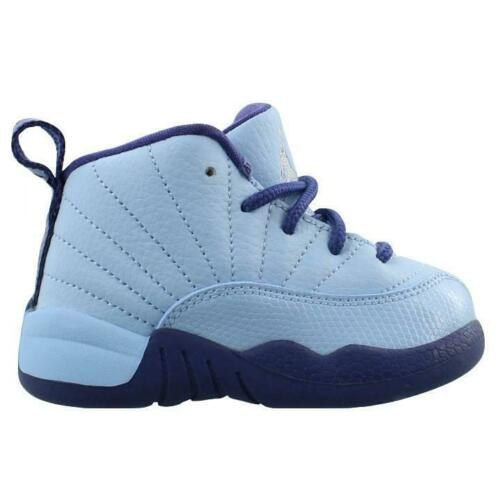 Air Jordan 12 Retro GT # 819666 418 Blue Purple Toddler Sz 4-10