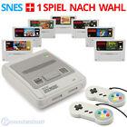 Super Nintendo Konsole + 2 Controller + Super Mario und Zelda SNES Spiele