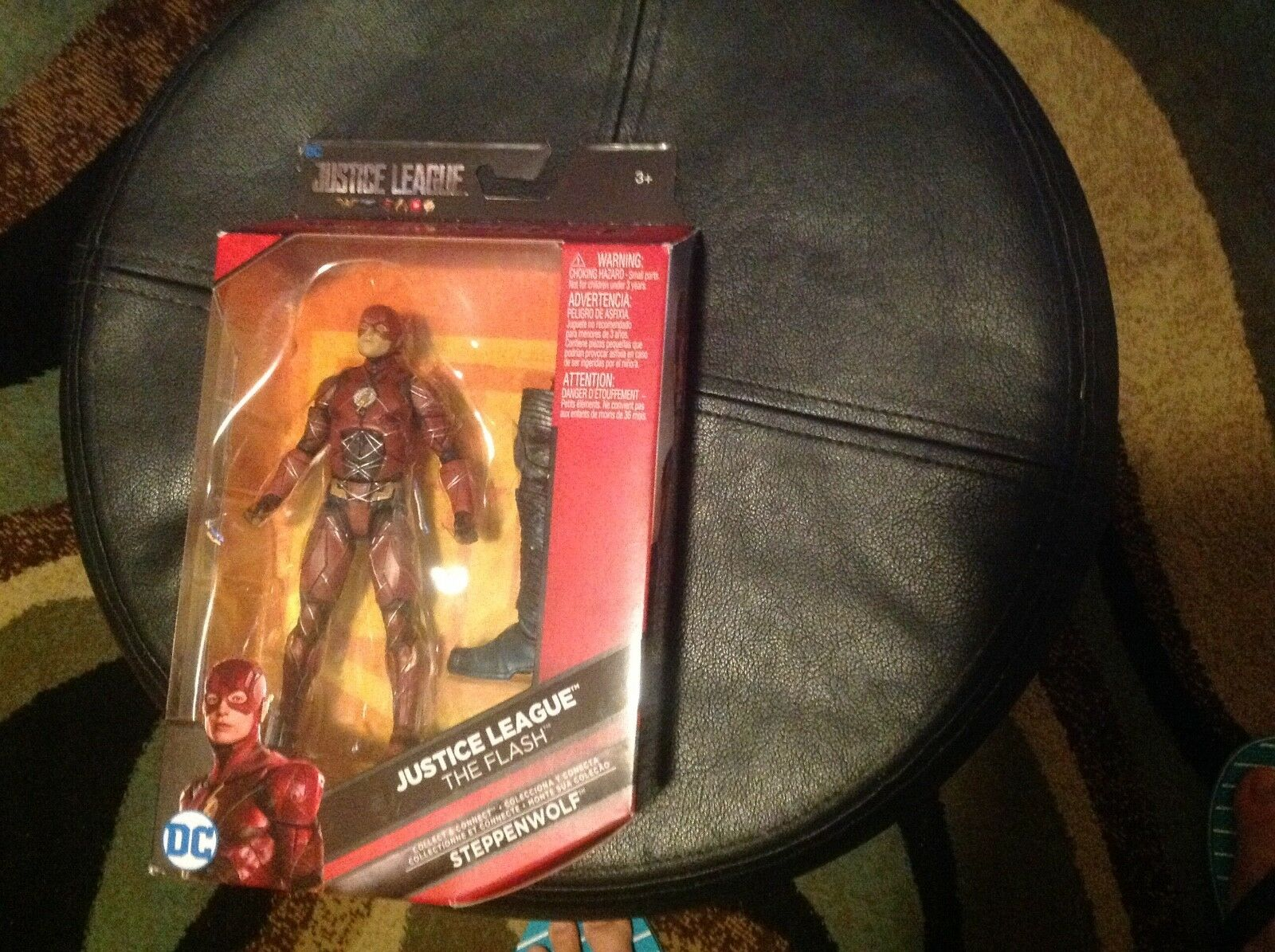 DC Comics Multiverse Justice League Movie Flash 6  With BAF Stepphenwolf