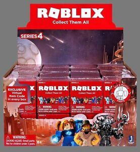 Roblox Series 4 - Details About Roblox Series 4 Assorted Mini Mystery Figures Sealed Full Box Of 24 Gift