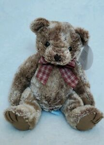 Sand Filled Stuffed Animals, Lenovia Plush Sitting Brown Bear 2000 Handcrafted Feet Hands Are Sand Filled Ebay