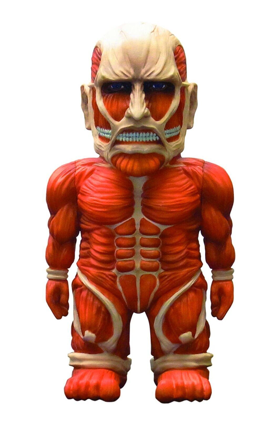 Ataque al Titán colosal Titán Suave 8 Pulgadas Figura De Vinilo