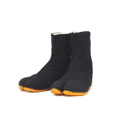 Tabi Chaussures de Ninja Pour  Enfants/Jikatabi bottes Noire!