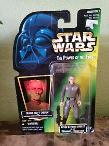 Rare New Sealed Star Wars Grand Moff Tarkin Power of the Force Figure Kenner