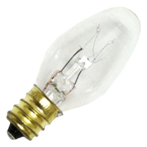 25 Pack REPLACEMENT BULB FOR BULBRITE 709105 5C7C 5W 120V