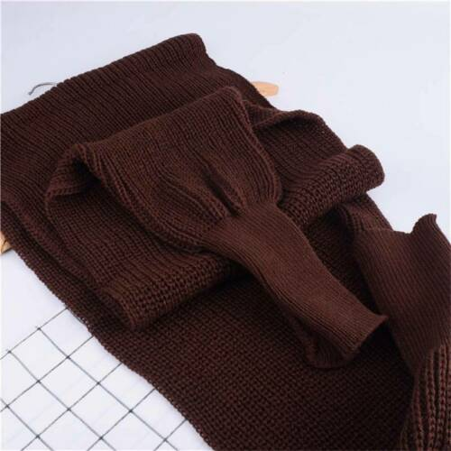 Scarf Knitted Women Scarves Wrap Warm Shawl with Sleeve Winter Tops Sweater