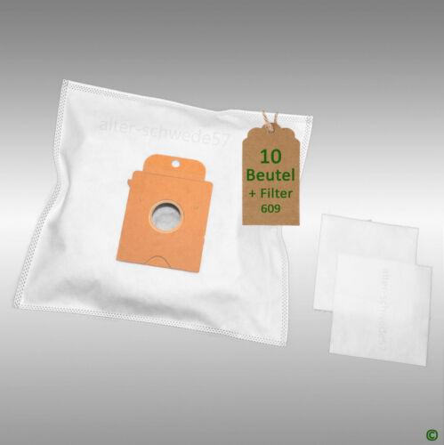 10 Staubsaugerbeutel geeignet fuer BOSCH Arriva:BSN 1700 Filtertueten #609
