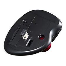 Brand Sanwa MA-WTB43BK Wireless Trackball Mouse Laser Black
