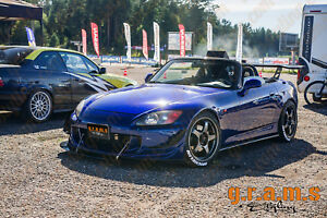 Honda-S2000-CARBON-Front-Bumper-Splitter-Lip-with-Pair-of-RODS-for-Racing-v6