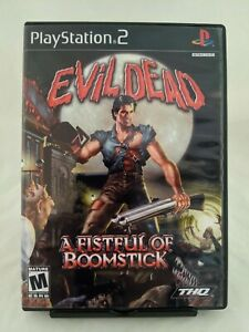 Evil-Dead-A-Fistful-of-Boomstick-for-PS2-Professionally-Refurbished