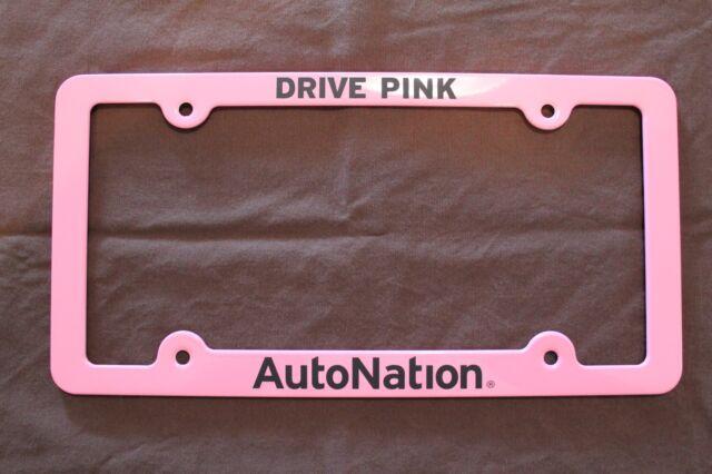 Funky Pink License Plate Frames Ideas - Picture Frame Design ...
