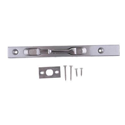 """6/"""" Flush Bolt Door Lock Lever Action Locking Slide Suit Double Doors #3"""