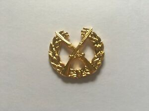 US-ARMY-INFANTRY-OPFOR-HAT-PIN-GOLD-MEASURES-1-INCH