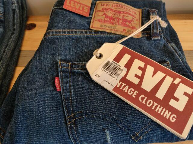 032f740d44c Levi's Vintage LVC 1967 Women's 505-0217 Red Tab Selvedge Denim Big E 29  $278