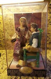 Disney-Designer-Doll-Collection-Rapunzel-amp-Flynn-Tangled-Dolls-Limited-Edition
