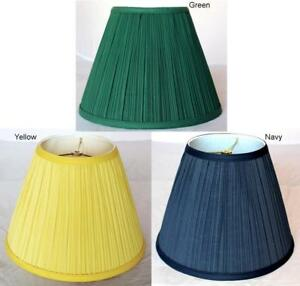 Usa american made navy blue green yellow mushroom pleated lamp image is loading usa american made navy blue green yellow mushroom aloadofball