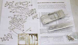 1/43 Cl11k Kit convertible Aston Martin Db5 de Smts