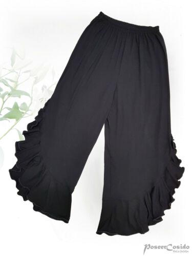 Poco design Lagenlook Pantaloni Pantaloni ROCK GRIGIO L-XL-XXL-XXXL 44 46 48 50 52 54 56 58