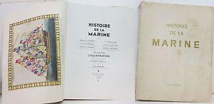 034-Histoire-de-la-Marine-034-Livre-Illustre-605-pages-edition-L-039-Illustration-1939