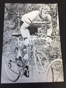 ROLF WOLFSHOHL Tour De France Radsport signed Autogrammkarte 10x15