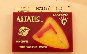 ASTATIC-N725SD-record-needle-stylus-DIAMOND-TE-21XSD-W-322STDS-A23-643SD-939DS