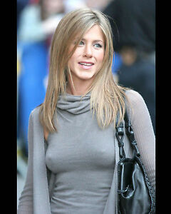 JENNIFER-ANISTON-8X10-PHOTO-PICTURE-PIC-HOT-SEXY-TIGHT-SWEATER-NIPPLES-CANDID-67