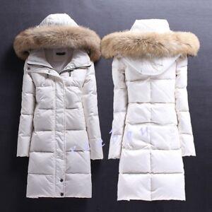 de des veste épaissir de canard Parka longue femmes mode duvet de Outwear à Manteaux fourrure capuche de la IwzqU