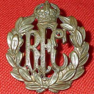 WW1-ERA-BRITISH-ARMY-THE-ROYAL-FLYING-CORPS-UNIFORM-CAP-BADGE-RFC