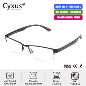 Cyxus-Lunettes-D-039-ordinateur-Bloquant-La-Lumiere-Bleue-Anti-Fatigue-Homme-Femme