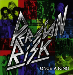 PERSIAN-RISK-Once-A-King-CD-2012-NWOBHM-Carl-Sentance-Nazareth