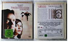DA VINCI CODE SAKRILEG - Tom Hanks .. Extended Version 2-DVD-Box